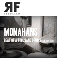Monahans - Beat Of A Thousand Drums (LIVE). Video by Refueled